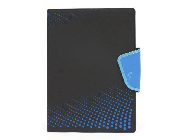 M-Edge Sneak Carrying Case (Flip) for Tablet PC - Black, Blue