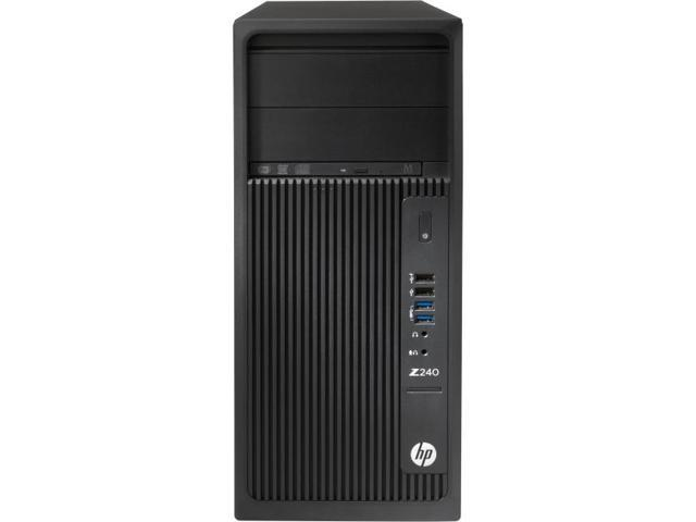 HP Z240 Tower Workstation - 1 x Processors Supported - 1 x Intel Core i3 (6th Gen) i3-6100 Dual-core (2 Core) 3.70 GHz