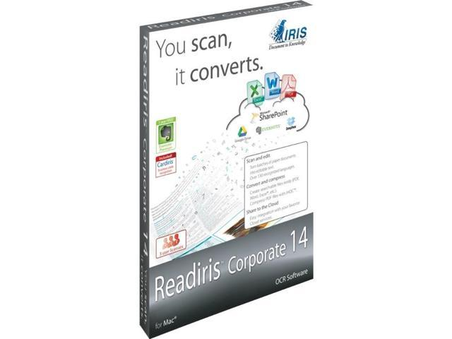 IRIS I.R.I.S. Readiris v.14.0 Corporate
