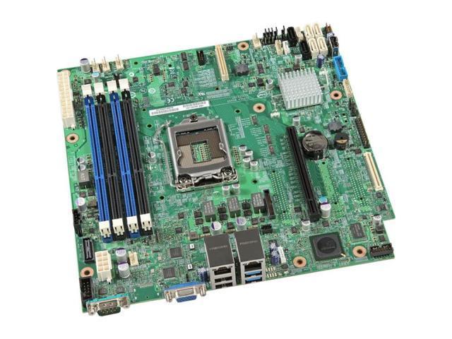 Intel S1200V3RPL Server Motherboard - Intel C224 Chipset - Socket H3 LGA-1150 - 10 x OEM Pack