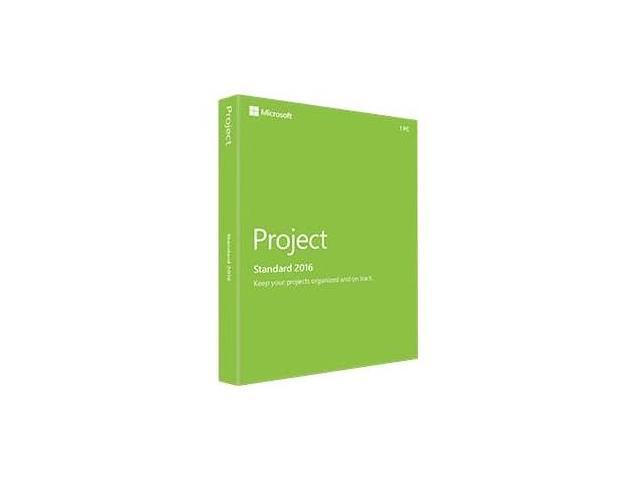 Microsoft Project 2016 Standard - Box Pack - 1 PC