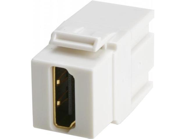 Wirewerks Keywerks HDMI Female-Female Coupler, White