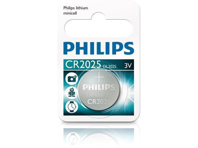 Philips 10PK CR2025 BUTTON CELL