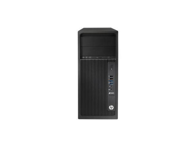 HP Z240 Tower Workstation - 1 X Intel Core I3 (6th Gen) I3-6100 Dual-core (2 Core) 3.70 Ghz - French