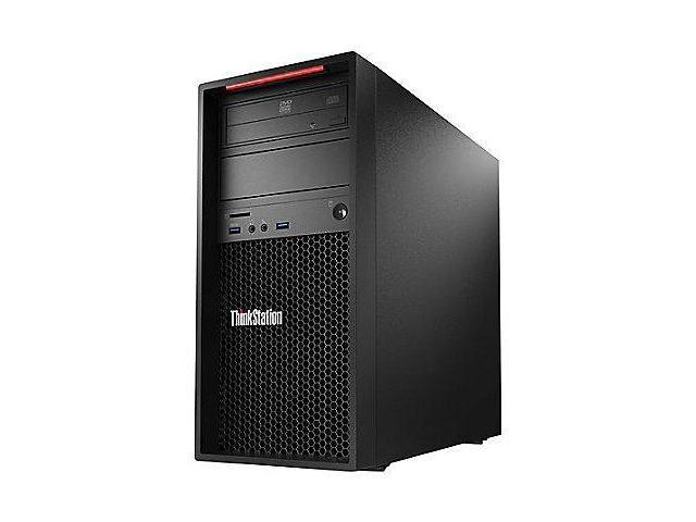 Lenovo ThinkStation P310, Intel E3-1245 v5 (3.50GHz, 8MB) - French