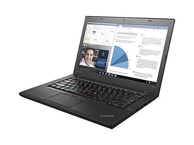 Lenovo Notebooks 20FN002VCA Intel Core i7 2.60 GHz 8 GB Memory 256 GB SSD Intel HD Graphics 520 14.0
