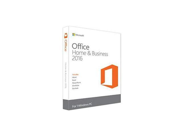 Microsoft Office Home and Business 2016 Medialess - French