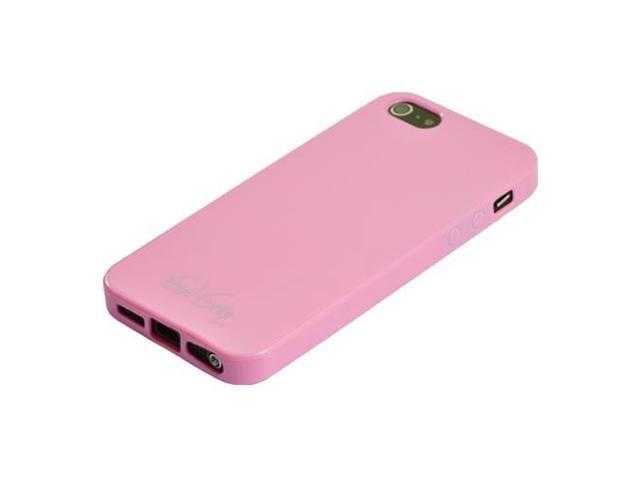 Libratel Black Pkgd. iPhone 5/5S Baby Pink Candy Gel Skin