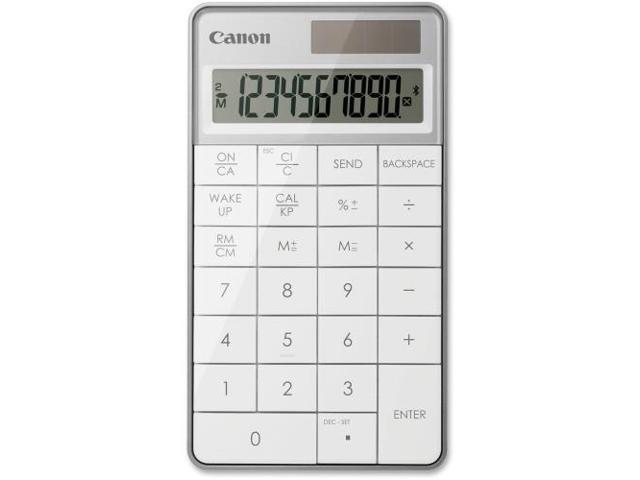 Canon Wireless Keypad Calculator