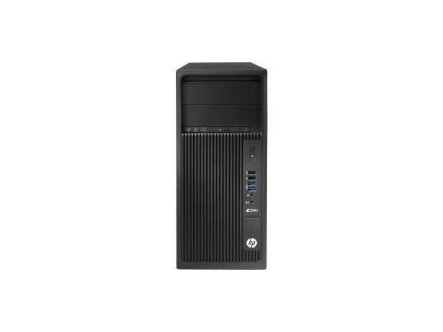 HP Z240 Tower Workstation - 1 x Processors Supported - 1 x Intel Core i5 (6th Gen) i5-6500 Quad-core (4 Core) 3.20 GHz