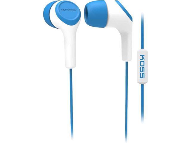 Koss KEB15i B In-Ear Headphone, Blue