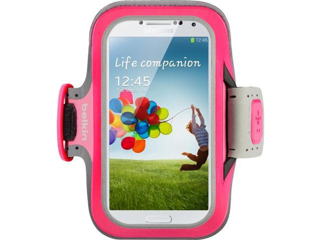 Belkin Slim-Fit Carrying Case (Armband) for Smartphone - Fuchsia