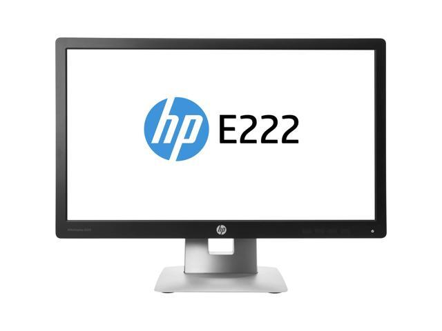 HP E222 M1N96AA#ABA Black and Silver 21.5