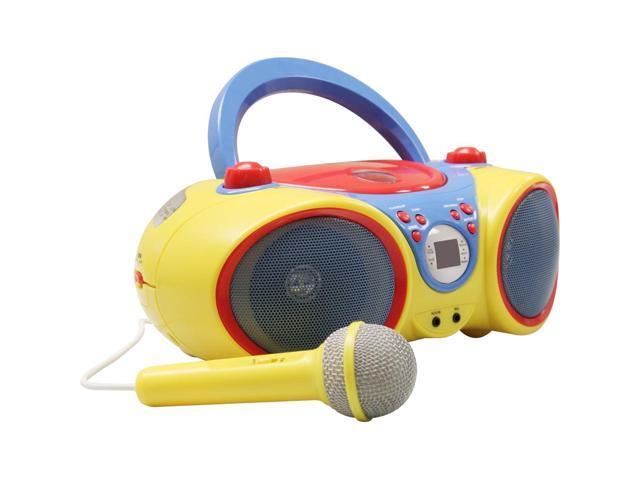 VCOM International Ltd KIDS AUDIO CD PLAYER WITH MICROPHONE