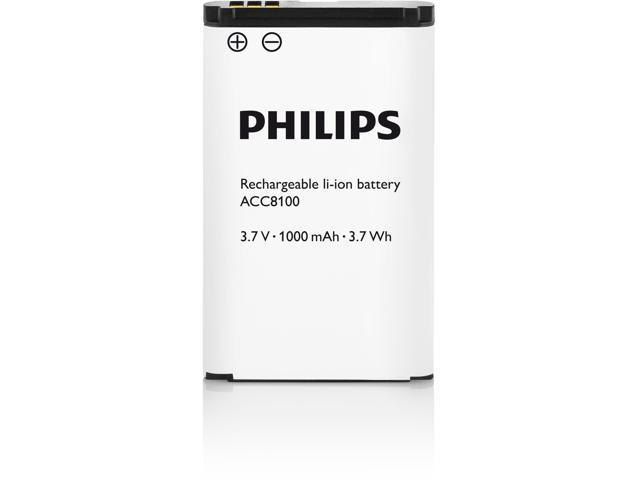 PHILIPS LI-ION BATTERY (1000MAH) FOR EXTRA RECORDING