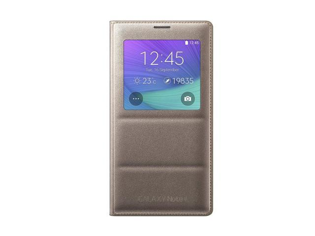 Samsung EFCN910BEEGCA S View Cover Note 4, Gold