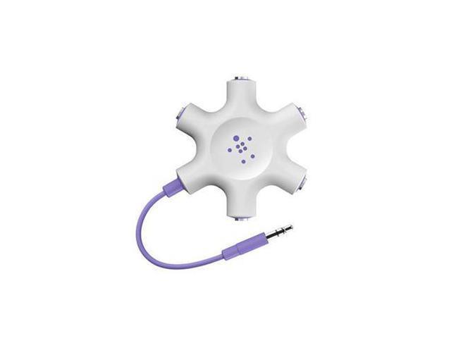 Belkin Purple F8Z274btPUR Rockstar Headphone Splitter