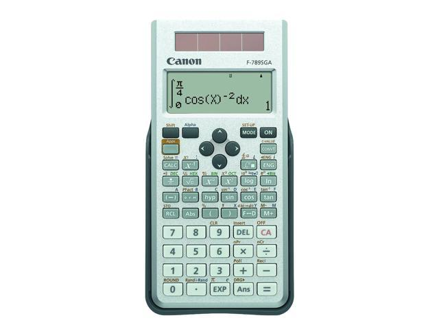 Canon F-789SGA Scientific Calculator with 605 advanced functions with 4 line LCD Display