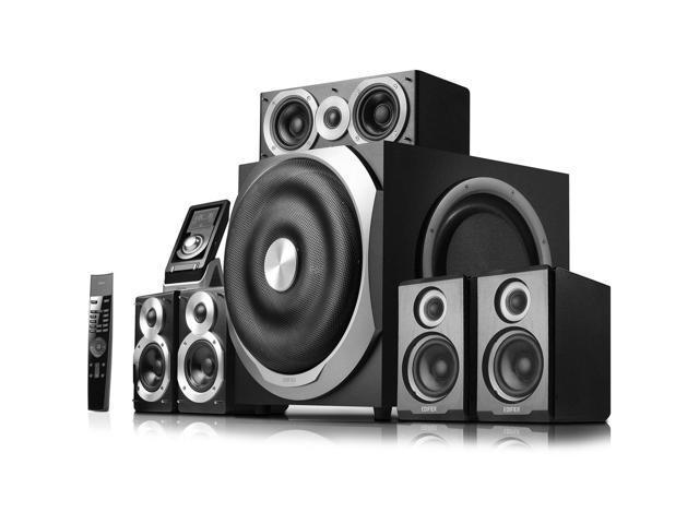 Edifier S760D 5.1 Speaker System - 540 W RMS - Black