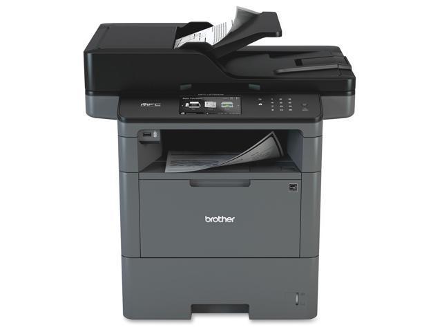 Brother MFC-L6700DW Laser Multifunction Printer - Monochrome - Plain Paper Print - Desktop