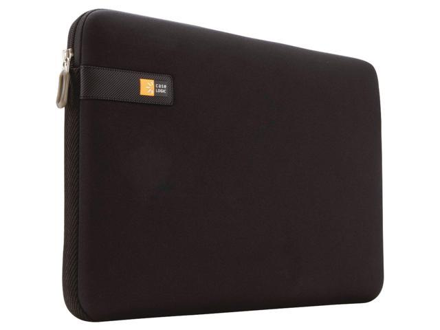 Case Logic Form fitting neoprene material stretches to accommodate most laptops with a 17 d