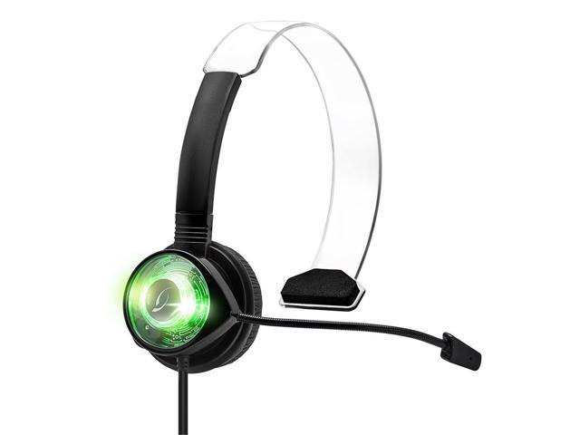PDP Afterglow Communicator for Xbox 360- Green
