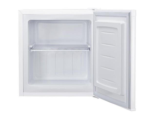 Haier 1.1 Cubic Foot Upright Freezer. Holds Approximately 35 lbs. of Frozen Food, 1 F