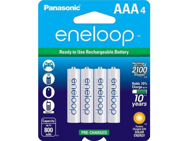PANASONIC ENELOOP AAA 4PK 800MAH RECHARGEABLE