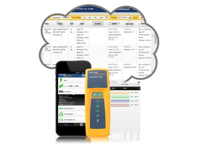NetScout LinkSprinter Network Tester
