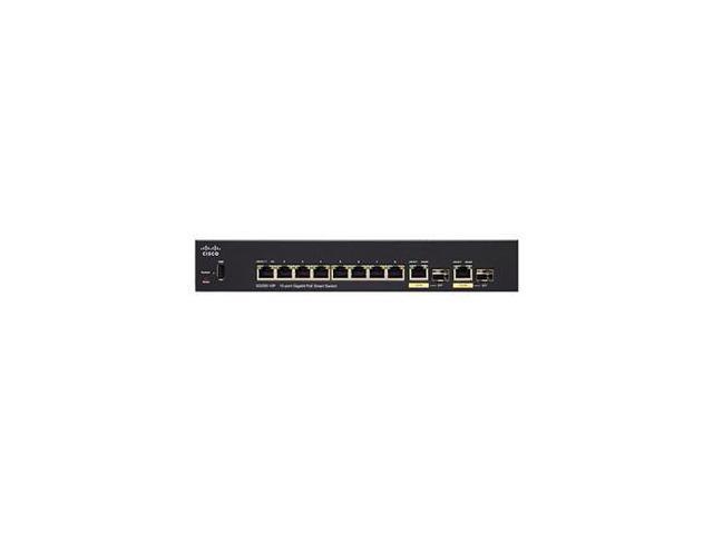 Cisco SG250-10P 10-Port Gigabit PoE Smart Switch
