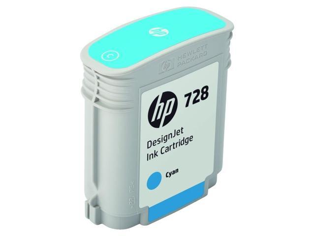 HP 728 Original Ink Cartridge - Cyan