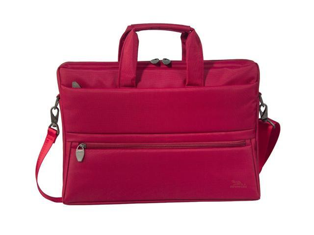 RivaCase 8630 polyester bag in red for a Laptop of 15.6 with tablet compartment