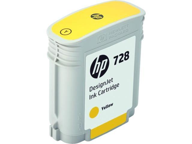 HP 728 Original Ink Cartridge - Yellow