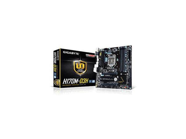 Gigabyte H170 MICRO ATX Motherboard