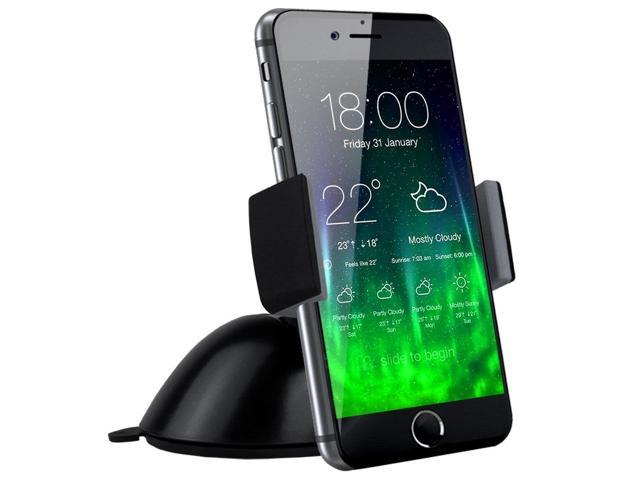 Link Depot Corp. Koomus Pro Dashboard Windshield Smartphone Car Mount Holder Cradle