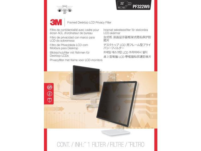 3M Framed Privacy Filter for Widescreen Desktop LCD Monitors