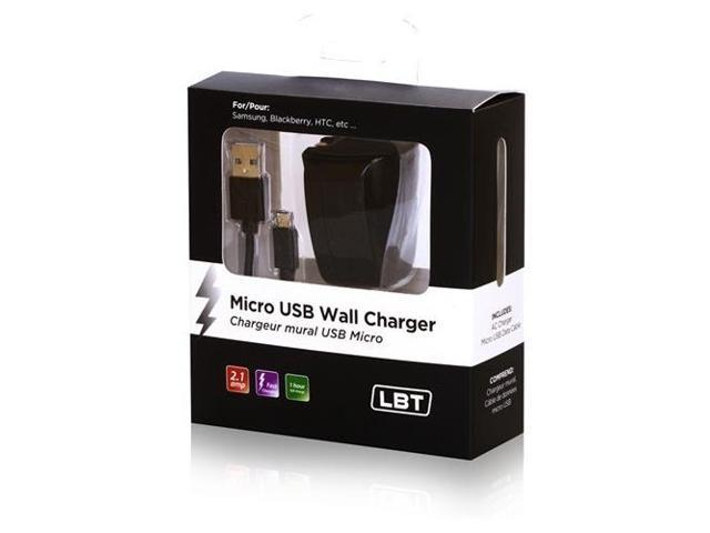 Libratel 2Amp Wall Charger W/ Micro USB Cable