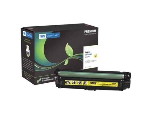 DP MSE HP Color LaserJet CP5525 Yellow Toner OEM# CE272A 15000 Yield, MSE 02-21-55214