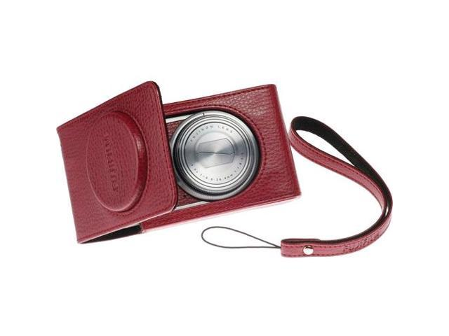 Fujifilm SoftCase Carrying Case (Holster) for Camera - Red