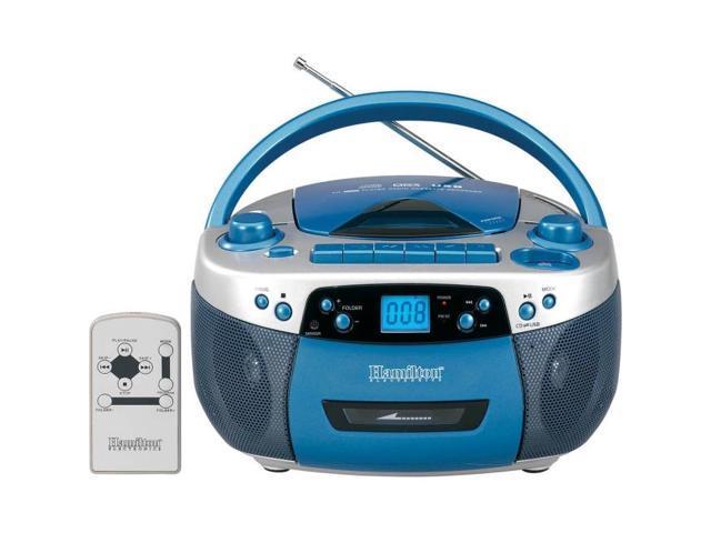 Hamilton Buhl MPC-5050PLUS Radio/CD Player/Cassette Recorder Boombox