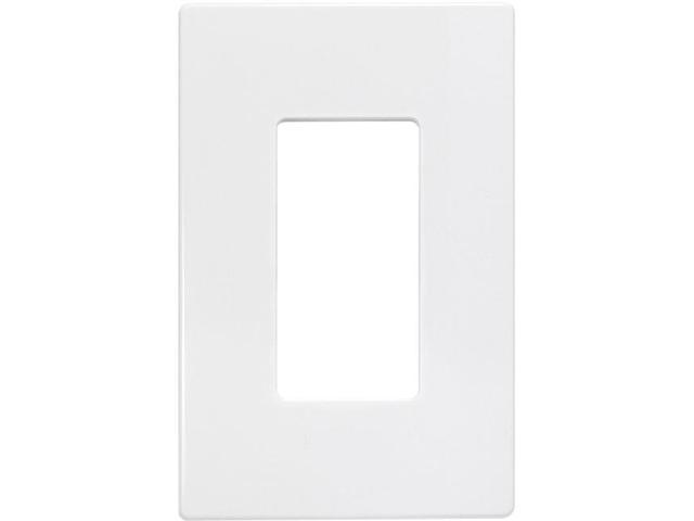 Insteon 2422-222 Screwless Wall Plate - Single Gang, White