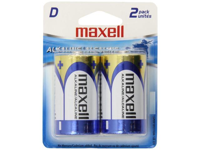 Maxell D Cell 2-Pack Battery