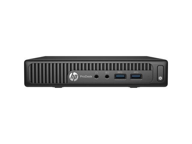HP Business ProDesk 400 G2 (P5U78UT#ABA) Desktop Computer - Intel Pentium G4400T 2.90 GHz 4 GB DDR4 500 GB HDD Intel HD Graphics 510 Windows 7 Professional 64-bit with Windows 10 Professional Licens