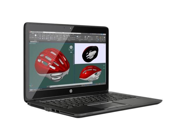 HP ZBook 14 G2 L3Z48UT#ABA Mobile Workstation Intel Core i5 5200U (2.20 GHz) 8 GB Memory 500 GB HDD AMD FirePro M4150 14.0
