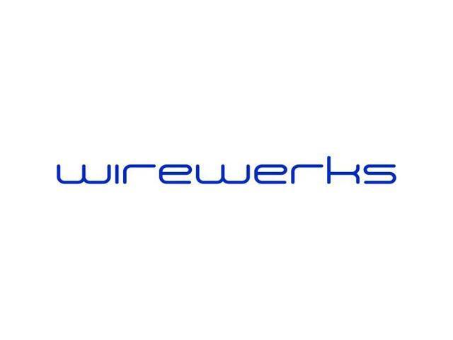 Wirewerks Keywerks Cat6 UTP 180° Inline Coupler, T568A/B, Black