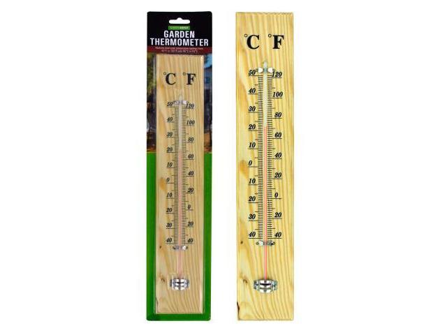 123 Wholesale: Set Of 12 Wooden Garden Thermometer (Household Supplies,  Thermometers)