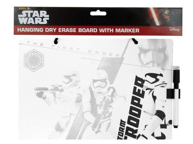 123-Wholesale: Set of 72 Stars Wars Dry Erase Board with Marker (School & Office Supplies, Display Boards)