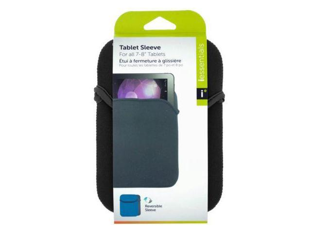 123-Wholesale: Set of 72 iessentials Small Gray Reversible Tablet Sleeve (School & Office Supplies, Computer Accessories)