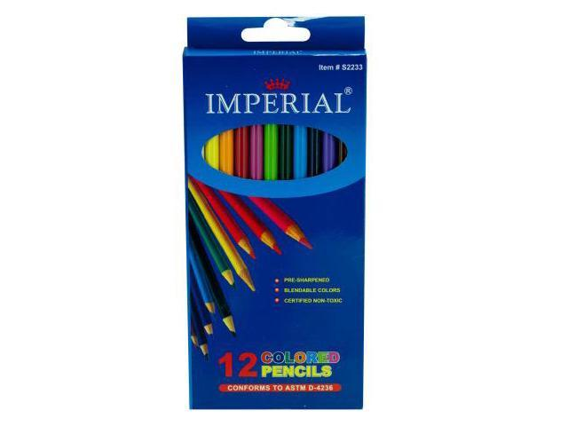 123-Wholesale: Set of 24 Blendable Colored Pencils Set (School & Office Supplies, Writing Instruments)