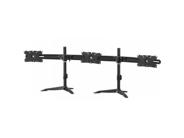 Triple Monitor Mount Stand for up to 32 inch Monitors. Also ideal for 26, 27, 28, 29, 30 and 32 inch monitors.